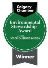 Calgary Chamber Environmental Stewardship Finalist 2015