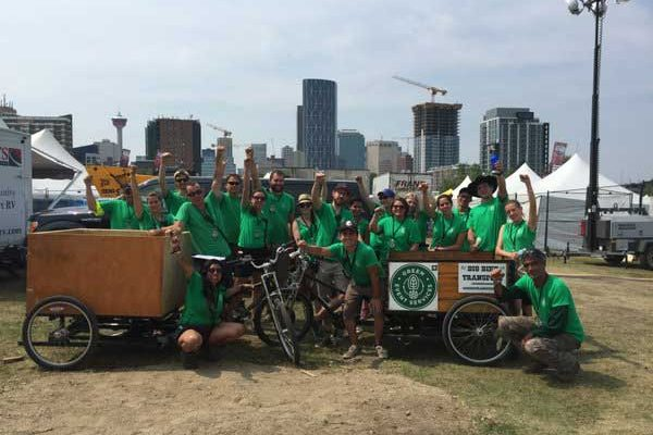 festival waste collection green event services calgary